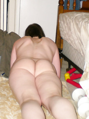 A few pics of me last year all horny masturbating my penis