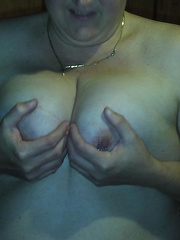 My wife posing in sexy undies and nude and giving oral pleasure