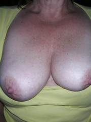 Old friend stopped by to visit recently started flashing her boobs