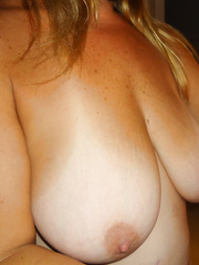 My Wifes Hot 40D Tits for you to enjoy lovely natural breasts