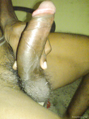 Thick black manhood cock searching for some fresh pussy