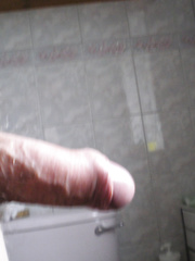 Just some pics of my cock hard and erect