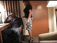 Busty wife with fresh paramour – interracial sex episode