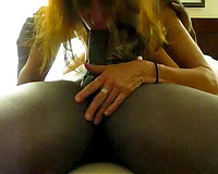 Wide stretched white vagina – interracial sex movie scene