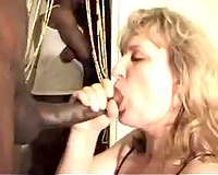 Two bbc's destroy this mature white wife