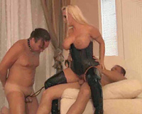 Mistress wife has submitted a cuckold video