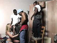 Cuckold wife interracial gangbang creampie share