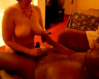Interracial Cuckold porn! Birthday my wife and Banger-1