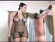 Amateur Mistress Wife Hangs Her Cuckold Hubby Slave