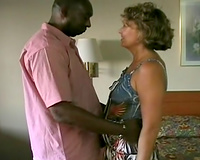 Motel fucking scene – interracial sex