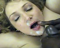 Big load for white wife – interracial porn episode