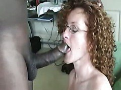 Curly mother I'd like to fuck and Black Cock! Interracial sex