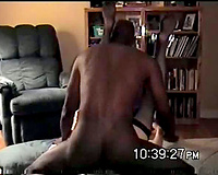 Amateur Interracial porn! Cuckold Wife Fucks Another BBC.