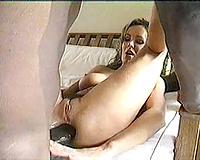 Interracial Porn! Hot Slut Wife Loves Huge Black Cock