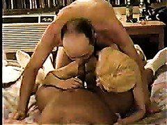 Amateur Interracial Sex! Double fun For Wife