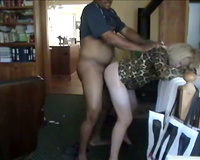 Slutty Wife & New Black Lover In The Kitchen