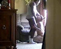 Hidden cam interracial Wife deepthroat