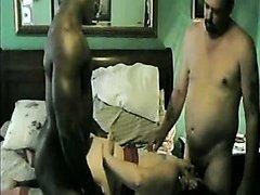 She Can Suck Black Dick- Amateur Interracial Sex