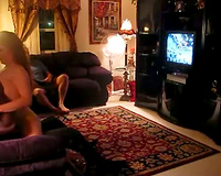Hubby watches hotwife with friend in advance of joining in