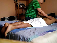 """Fat concupiscent masseuse gives me a """"special"""" French massage"""