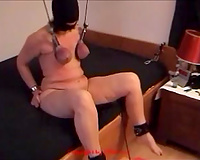 Hardcore BDSM non-professional sex with my German freaky white wife