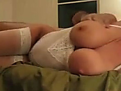 Sexy large tittied tease screwed unfathomable in homemade vid