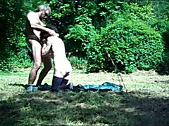 Amazing voyeur outdoor sex compilation in the Belgian forests