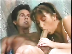 Classic vintage orall-service from a hawt golden-haired milf doxy