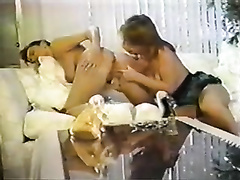 Retro porn compilation with breasted lesbians and tugjob