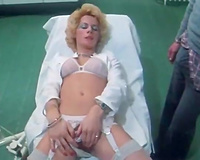 That wicked milf nurse blows shlong of the patient