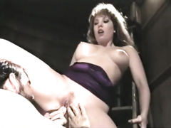 Curvy retro milf receives drilled from behind after oral-job sex