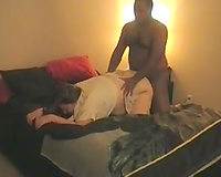 Chubby white milf sucks my BBC and enjoys coarse from behind sex
