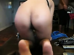 Extra wicked Asian skank deepthroats my cock with excitement