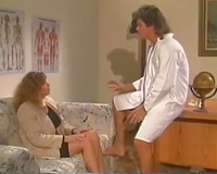 Sexy doctor tempted recent sexy nurse and screwed her constricted twat