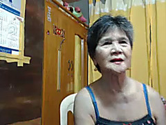 Here is an old loose twat of my Japanese granny slutwife