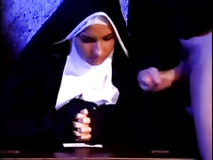 Cock crazed nun gives me the superlatively good blowjob of my life