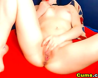 Tattooed Readhead playgirl Suck and Fuck her Toy
