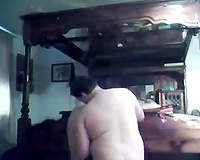 I love to castigate my lewd sex slaves in my apartment