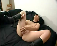 Incredible and freaky PAWG white lady on cam fingers her cunt