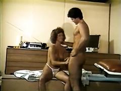 Vintage porn compilation with 2 hawt oral-service sex scenes