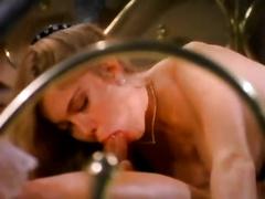 Amazingly seductive retro porn model is getting fucked doggy style