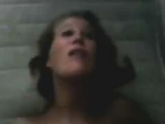 Dutch milf groans crazily whilst getting her love tunnel gangbanged by me