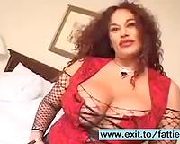 Fat breasty SEX DEVIL finishing weenies