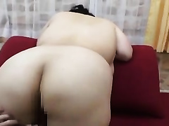 Beautiful and breasty Japanese big beautiful woman honey lets me play with her
