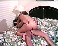 Passionate and wild nympho gets her fur pie eaten and screwed truly good