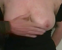 Beautiful saggy white love bubbles of my older white cheating wife