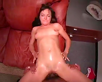Sexually charged seductress looks a lot greater amount hawt in reverse cowgirl position