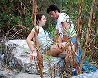 Outdoor sex with my sexy and cute non-professional legal age teenager girlfriend