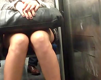 My spying skills are amazing and this upskirt clip is the proof