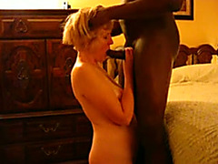 Cock crazed granny with a not ever ending sex drive loves it large and dark